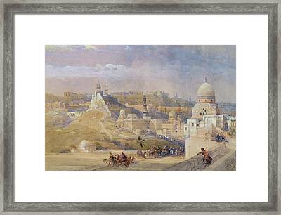 Constantinople Framed Print by David Roberts