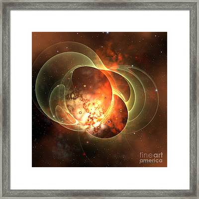 Constellation Framed Print by Corey Ford