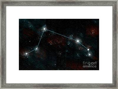 Constellation Of Aries Framed Print