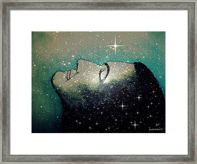 Constellation Of Dreams Framed Print by Paulo Zerbato