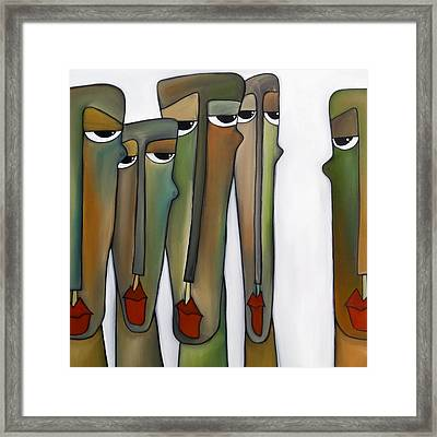 Constituents Framed Print by Tom Fedro - Fidostudio