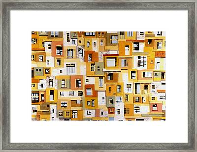 Construction 30 Framed Print by Ashley Lathe