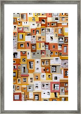 Construction 31 Framed Print by Ashley Lathe