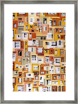 Construction 34 Framed Print by Ashley Lathe