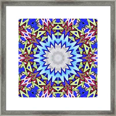 Construction Framed Print by Lanjee Chee