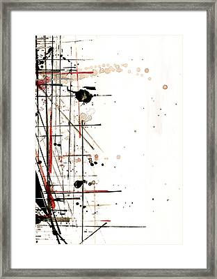 Construction No. 1 Framed Print by Nicholas Ely