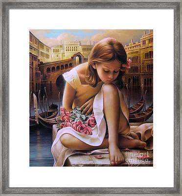 Consuelo Framed Print by Arthur Braginsky