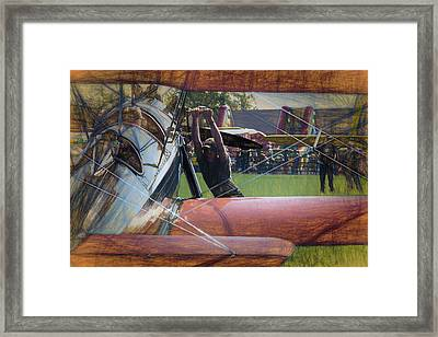 Framed Print featuring the photograph Contact by James Barber