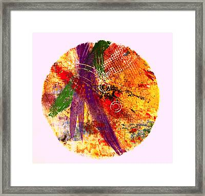 Contained Framed Print