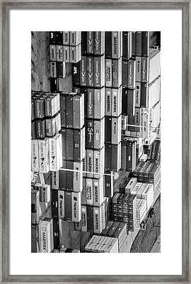 Container Library Framed Print