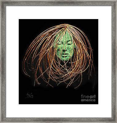 Contemplate Framed Print