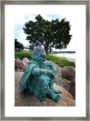 Contemplate Framed Print by Tim Nichols