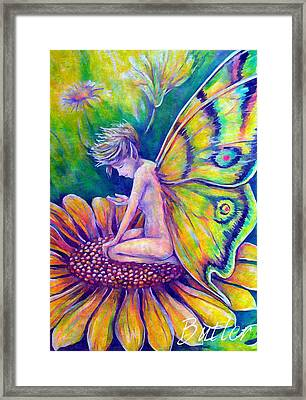 Contemplating A New Dream Framed Print