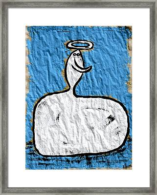 Contemplating My Act Framed Print by Mario Perron