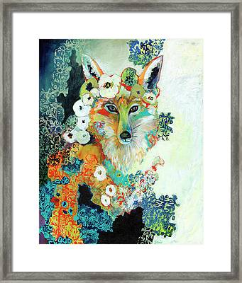 Contemplating Pearls Framed Print by Jennifer Lommers