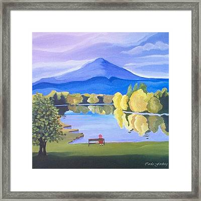 Contemplation  Framed Print by Carola Ann-Margret Forsberg