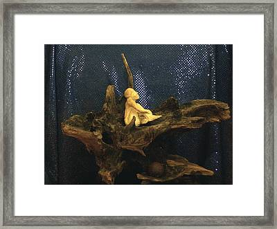 Framed Print featuring the photograph Contemplation by Carolyn Cable