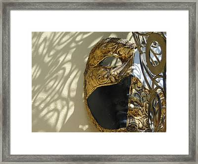 Contemplation Framed Print by Gail Butters Cohen
