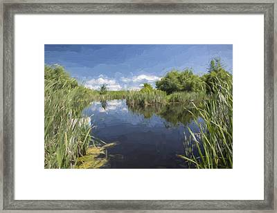 Contemplation II Framed Print