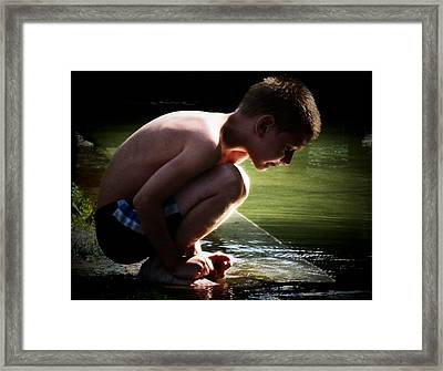 Contemplation Framed Print by Joyce Kimble Smith