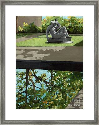 Contemplation Framed Print by Linda Apple