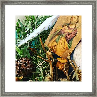 Contemplation Framed Print by Linda Smith