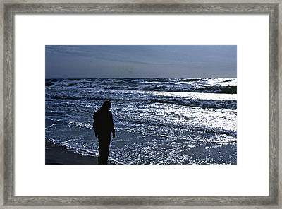 Framed Print featuring the photograph Contemplation by Lori Miller