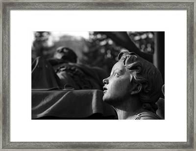Contemplation Framed Print by Marc Huebner