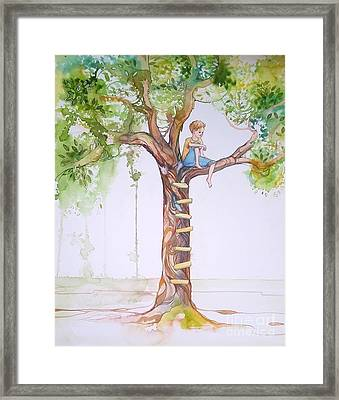 Contemplation Framed Print by Maya Simonson