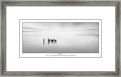 Contemplation Poster Print Framed Print by Az Jackson