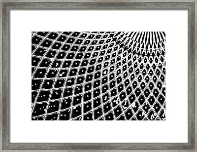 Contempo Framed Print by Nina Pilgrim