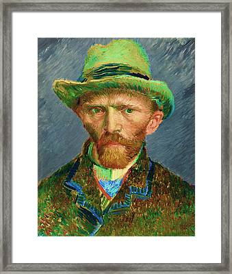 Contemporary 2 Van Gogh Framed Print by David Bridburg