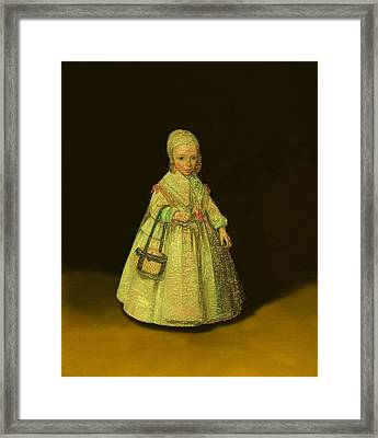 Contemporary 6 Ter Borch Framed Print