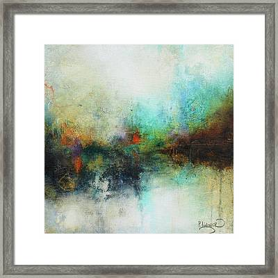 Contemporary Abstract Art Painting Framed Print