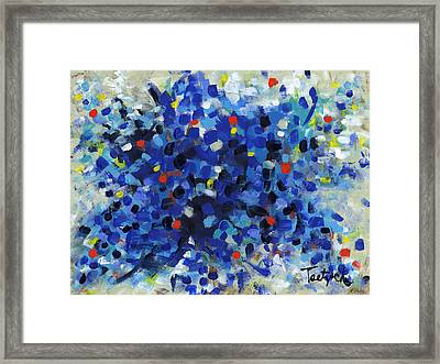 Contemporary Art Fifty Framed Print
