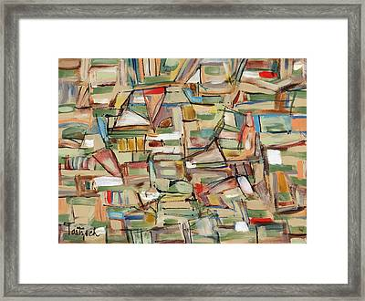 Contemporary Art Forty-eight Framed Print