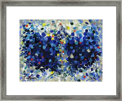 Contemporary Art Forty-four Framed Print