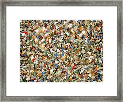 Contemporary Art Forty-seven Framed Print