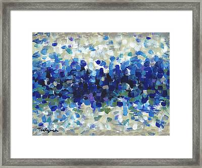 Contemporary Art Forty-three Framed Print