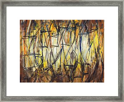 Contemporary Art Three Framed Print