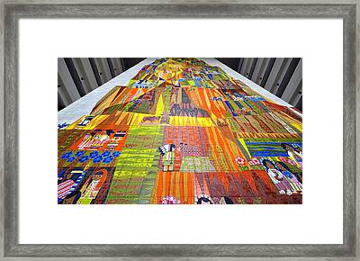 Contemporary Mosaic Framed Print by David Lee Thompson
