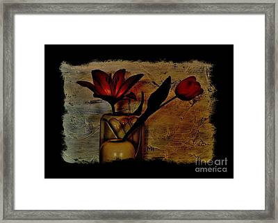 Framed Print featuring the photograph Contemporary Still Life by Marsha Heiken