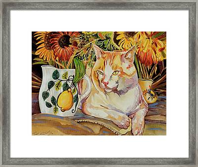 Contentment Framed Print by Bob Coonts