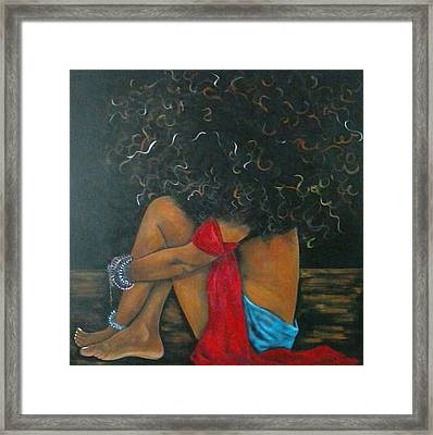 Contentment Framed Print by Jenny Pickens