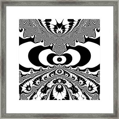Conterialt Framed Print