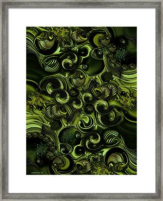 Context Of Dreams - Vegetable Framed Print