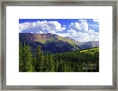 Continental Haze Framed Print by Barbara Schultheis
