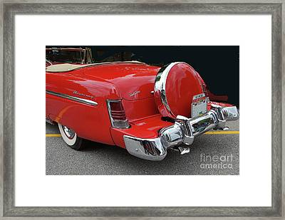 Framed Print featuring the photograph Continental Kit by Bill Thomson