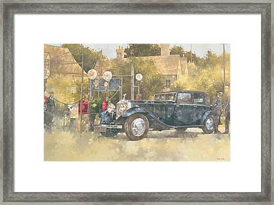 Continental Phantom Two Framed Print by Peter Miller