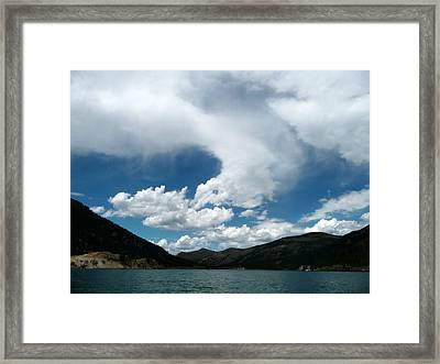 Continental Whisper Framed Print by Max Mullins